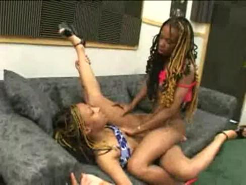 Black lesbian trib