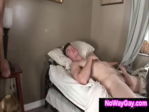 Straight Guy Sucked While Sleeping By Roommate