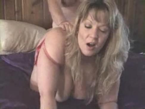 mature lady gets fucked anally and then gets a load on her face