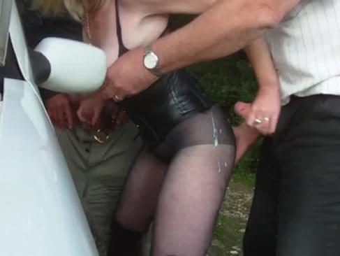 video hidden cam stranger blowjob with cum in public gay porn d