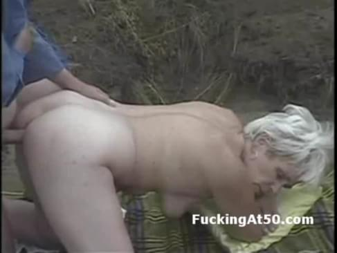 granny fucked on all fours