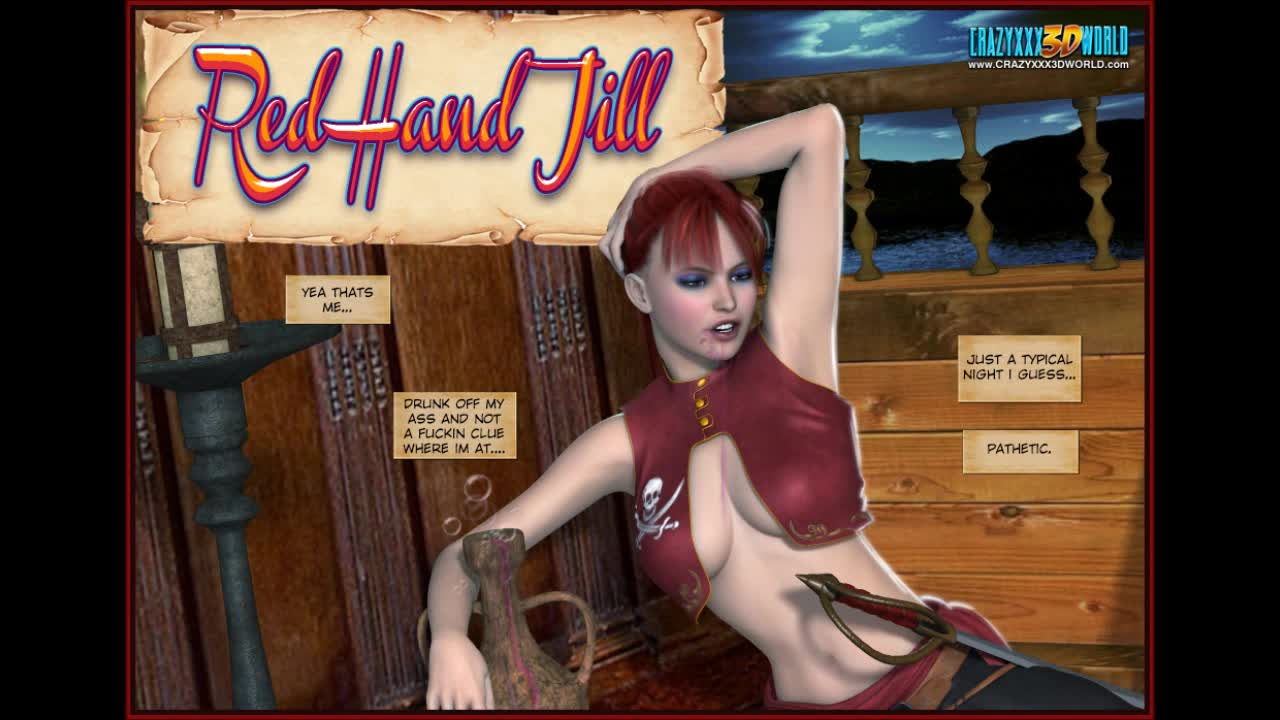 3d comic red hand jill episodes 12