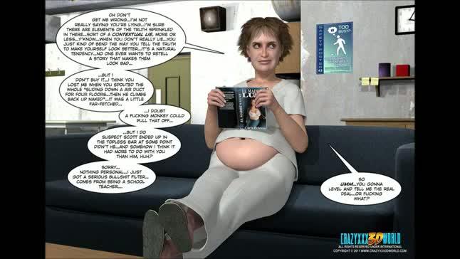 3d comic spermaliens episodes 45 5
