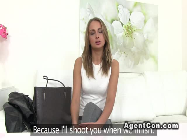 Fake Agent Pussy Licking