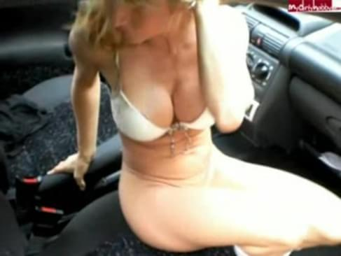 Girl Fucks Car Shifter