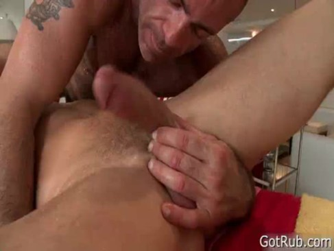 Lucky Guy Gets Great Massage In Ass