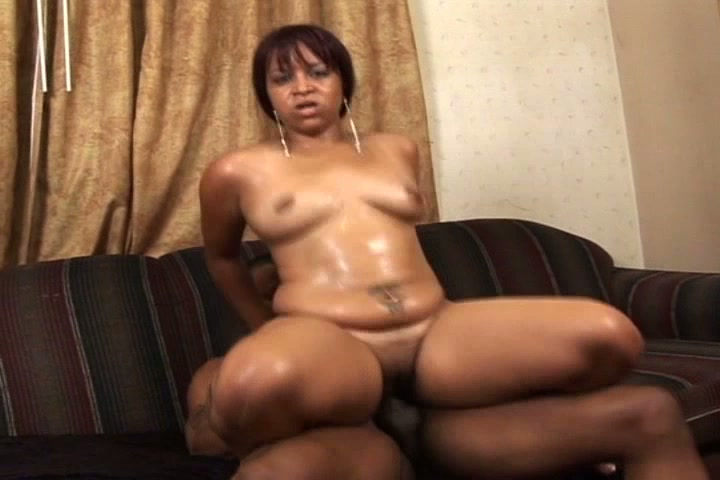 This big ass black girl sucks his black cock and then gets fucked hardcore in this free tube movie.