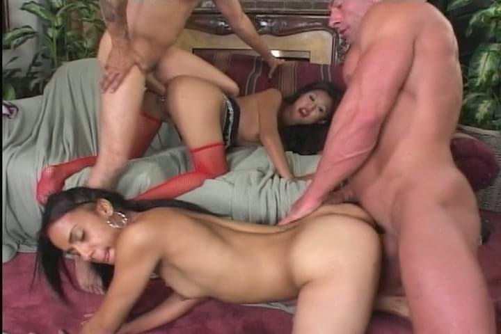 Twosome turns into threesome