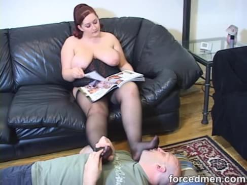 Amazing Mature domination chubby tube