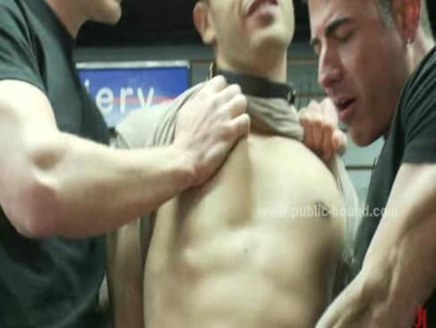 gay boy cutie spanked by sex masters and is fucked in extreme gay gang bang ...