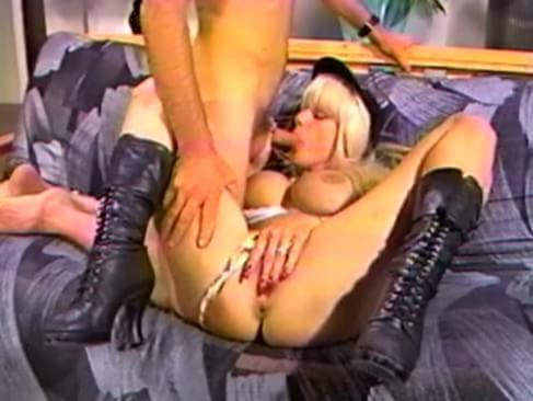 Big tits pooper poop chute anal