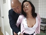 A sexy older Japanese mom is craving cock since her husband died. Her lawyer tries to help out with his toys and cock but she really wants her video game playing sons friend to step in for his dad. Enjoy!