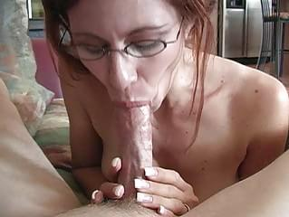 Redhead milf who loves to deepthroat