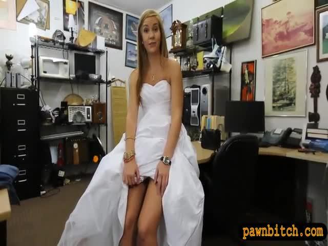Wedding dress designer fucks ashley aleigh before her wedding