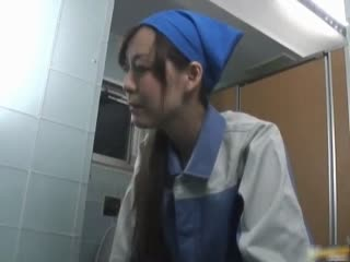 Asian maintenance girl goes in wrong part6 - Porn