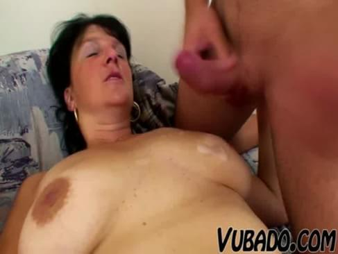 mature woman stud on young