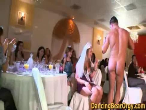 Guy stripper bridal showers