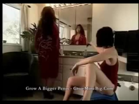 Two lesbians an Asian and Caucassian matured woman plays each other, licking and touching each others boobs and pussy on a bathroom sink. While a whiteguy shots a camera from a far.