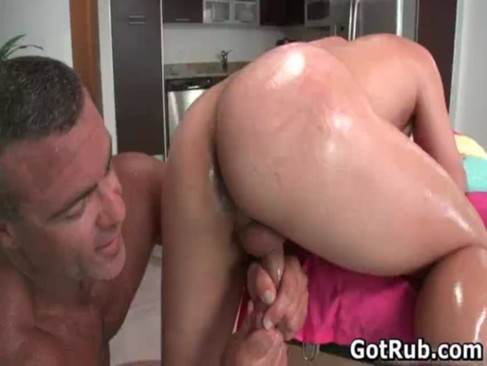 Gays oiled fucked