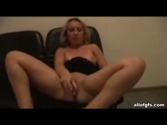 Homemade fucking that will blow your filthy fantasies deep inside you as amateur blonde girlfriend plays wet cunt then sucks big cock on camera.