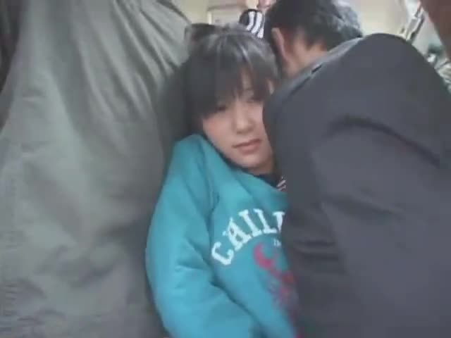 asian woman fucked on train