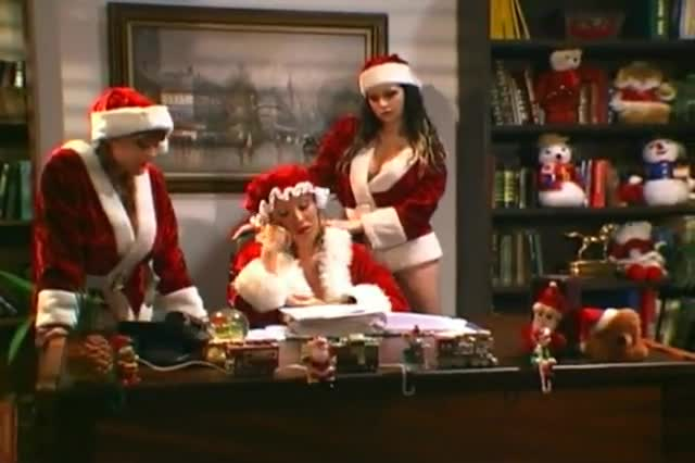 The tits that saved xmas