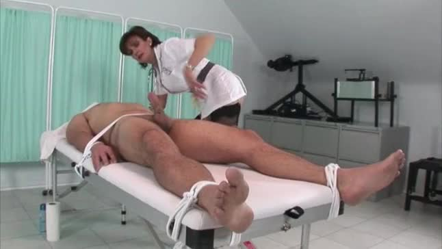 Mr bean pre erected penis surgery amp screwed by two nurse 1