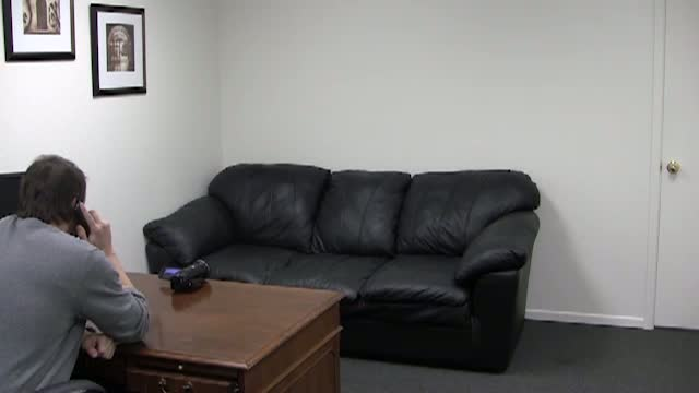 Sound makes backroom casting couch violet