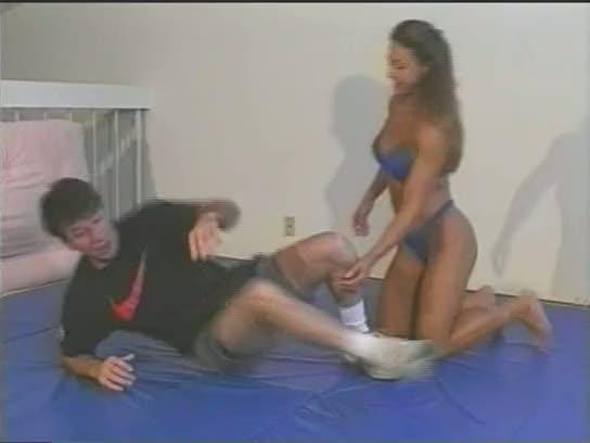 Charlene rink mixed wrestling