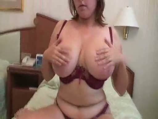 Big boobs redhead wife fuck on couch