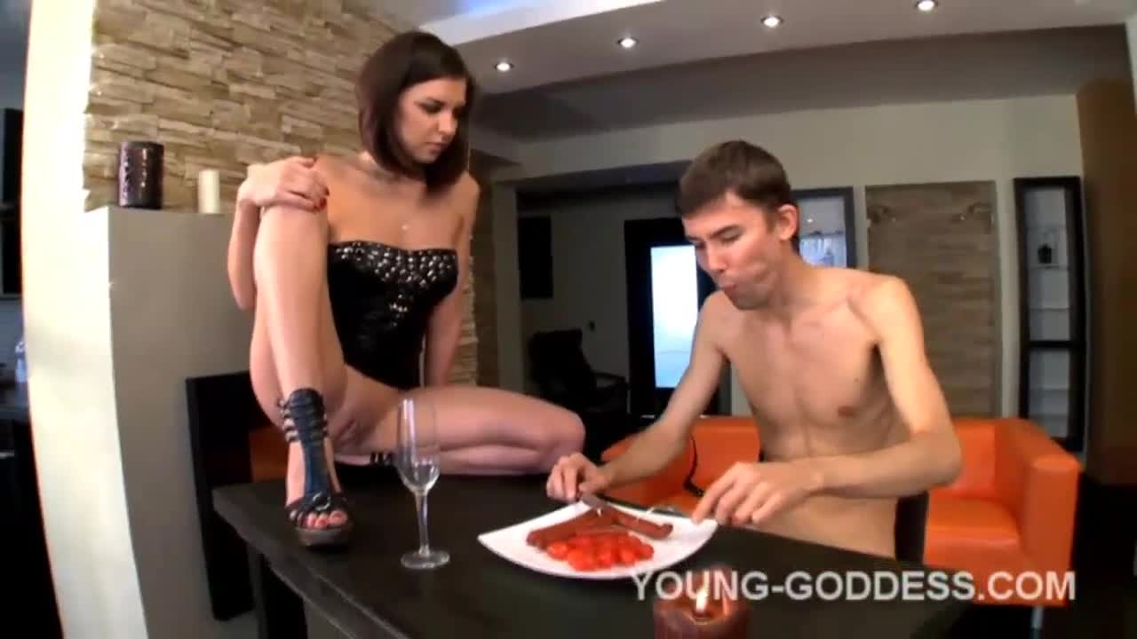 Young Mistress Old Slave