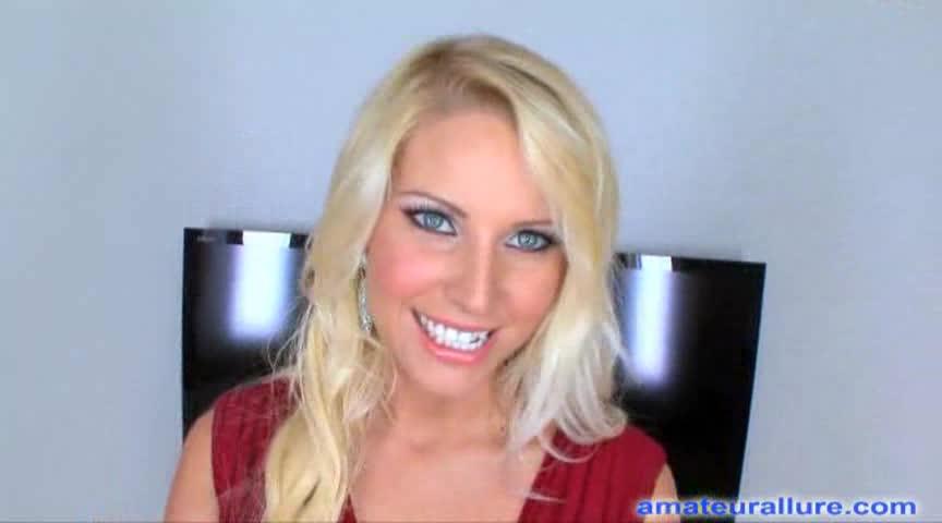 Stunning Blonde Sucks A Massive Dark Shaft, Free Porn