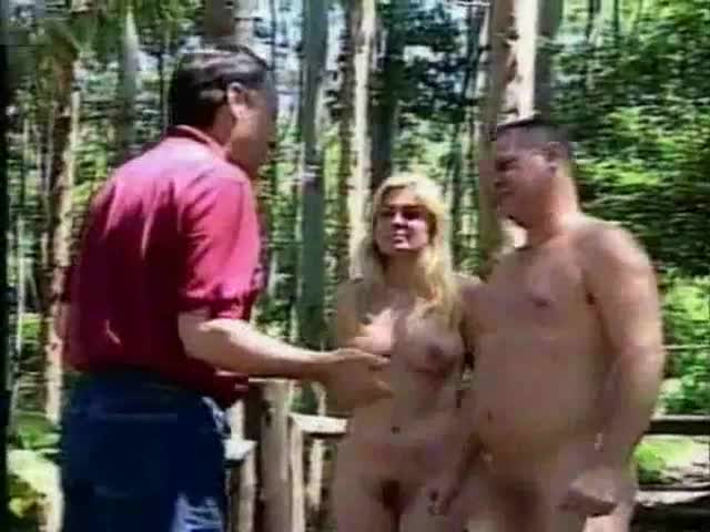 Moden people living nude there