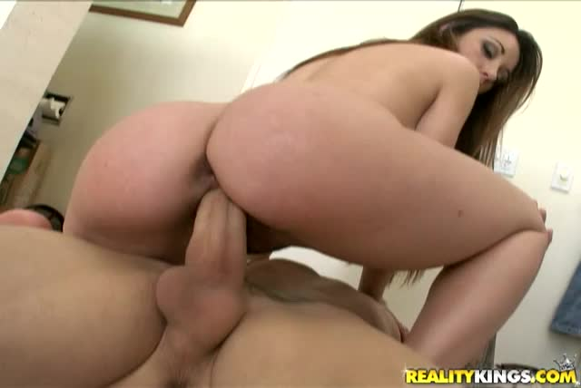 Geminii rides that cock as her amazingly huge ass bounces
