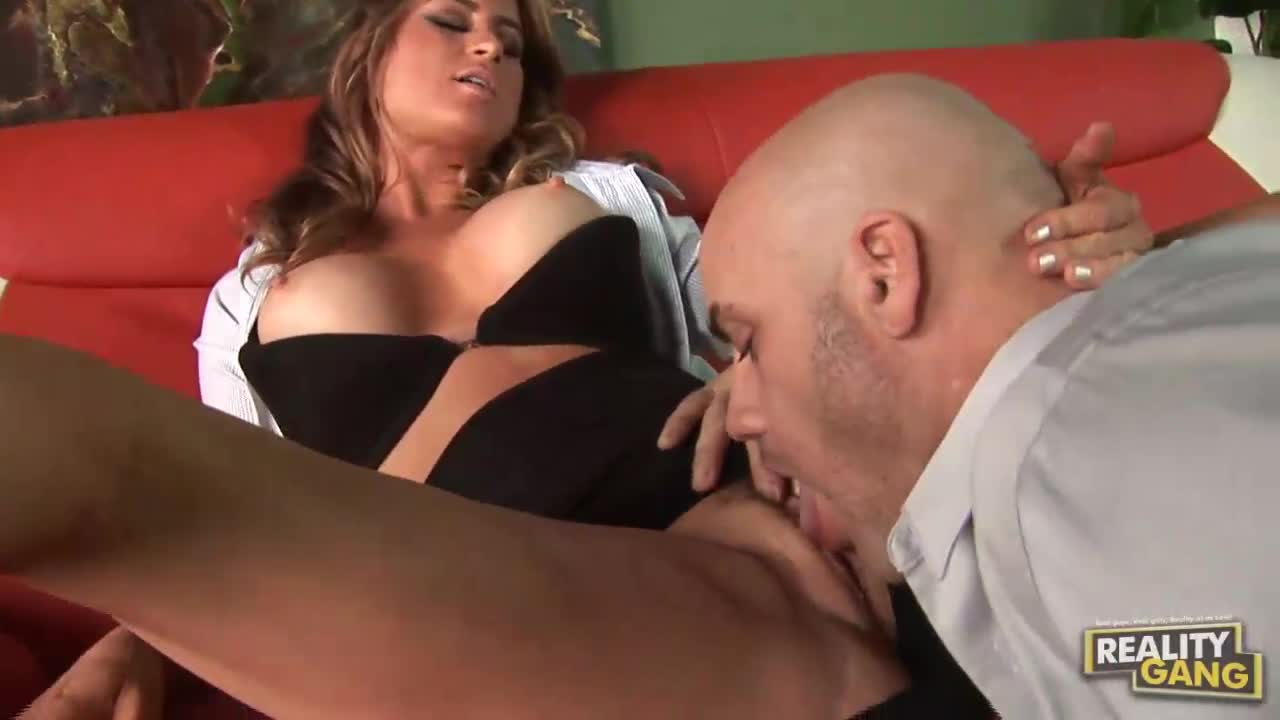 man-licking-shaved-pussy