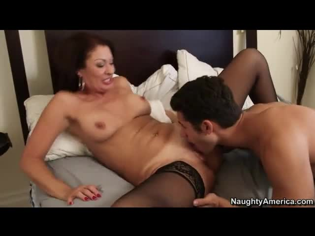 Ebony Older Woman Young Guy