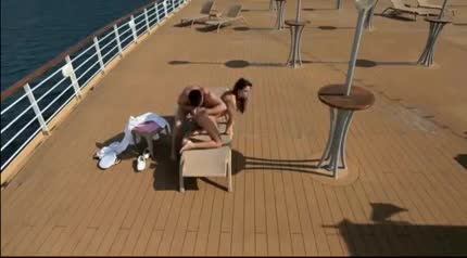 Think, that blowjob on deck of cruise ship