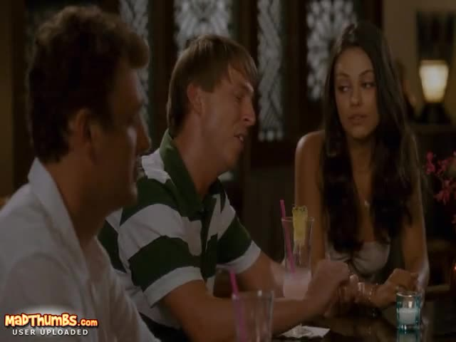 With you mila kunis tits forgetting sarah marshall opinion here