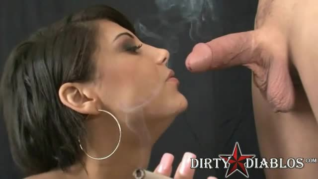 cigar blowjob