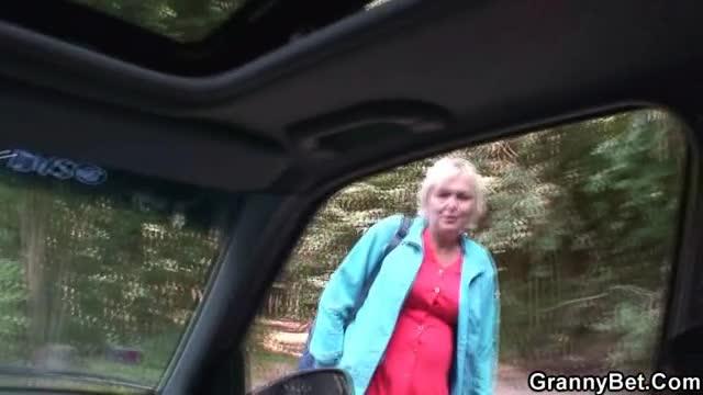 Grandma Giving Blowjob 12