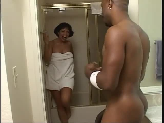 Black Girl Giving Massage