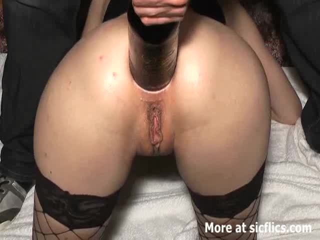 Anal Fisting And Huge Bottle Ass Fuck