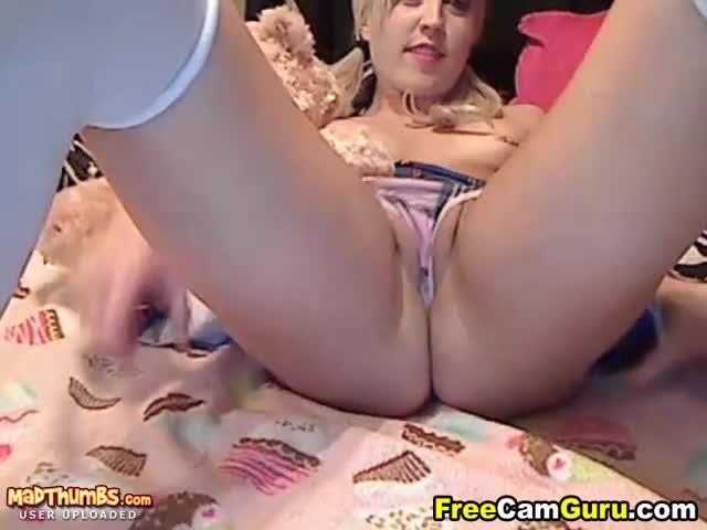 tight blonde tube