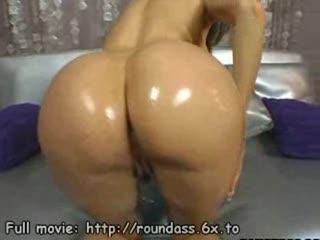 Big latina ass oiled