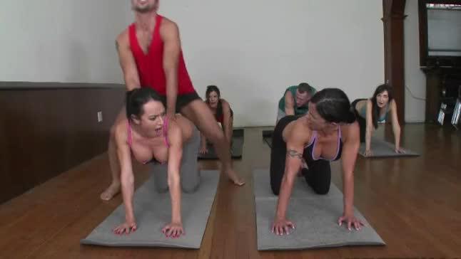 dirty yoga instructor