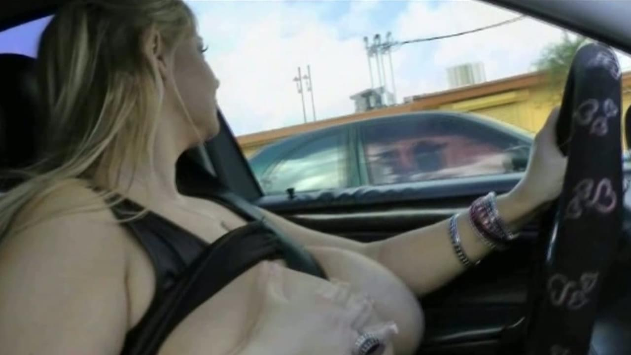 tits out while driving