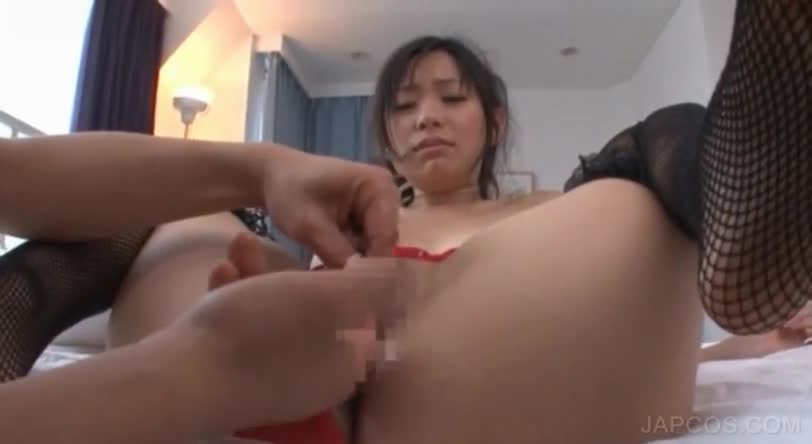 playing with girls breast
