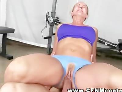 Hot blonde midget sex blonde