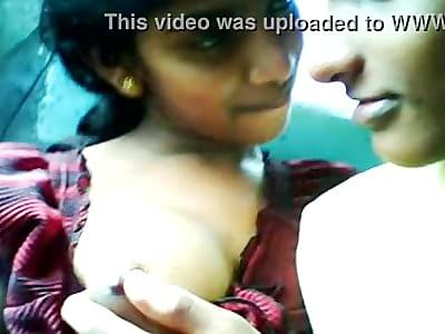 hot indian mallu girls soft boobs & nipples sucked by her bf ...