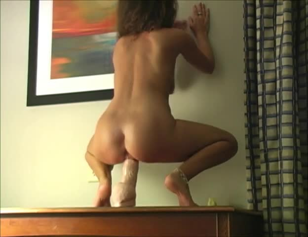 wife with huge dildo